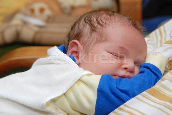 Snem baby piękna rodziny miłości Zdjęcia stock © taden