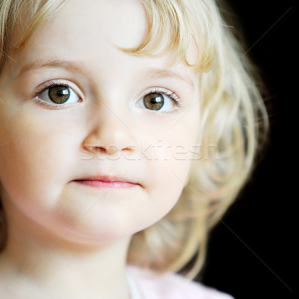 девочку портрет лице модель девочек Сток-фото © taden