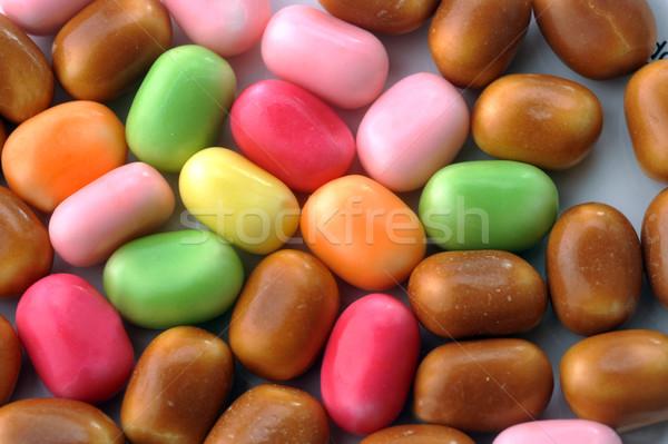 Stockfoto: Heldere · kleur · suiker · voedsel · groene