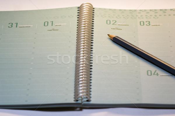 notebook and pencil Stock photo © taden