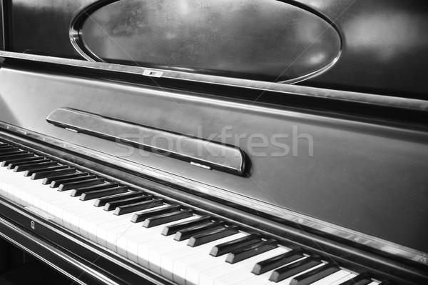 Hangversenyzongora előcsarnok étterem belső fa terv Stock fotó © taden