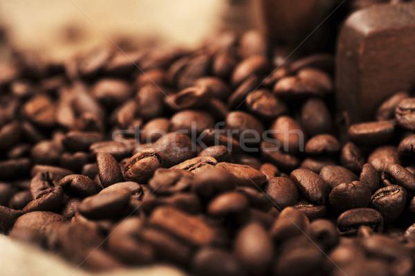 コーヒー豆 コーヒー 自然 ドリンク ストックフォト © taden
