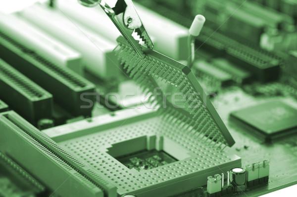 computer Central processor Stock photo © taden