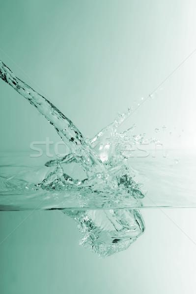 Stream and splashes  Stock photo © taden