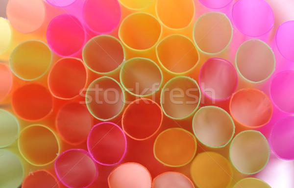 color straws Stock photo © taden