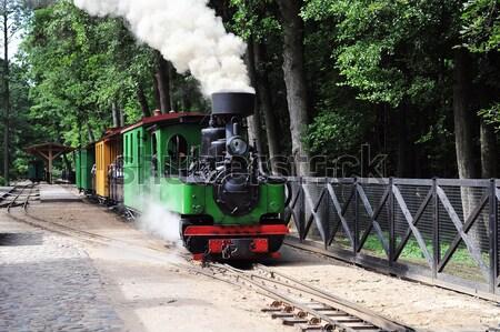 old steam locomotive Stock photo © taden