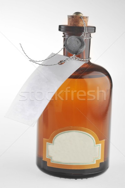 bottle with  cosmetic mean Stock photo © taden