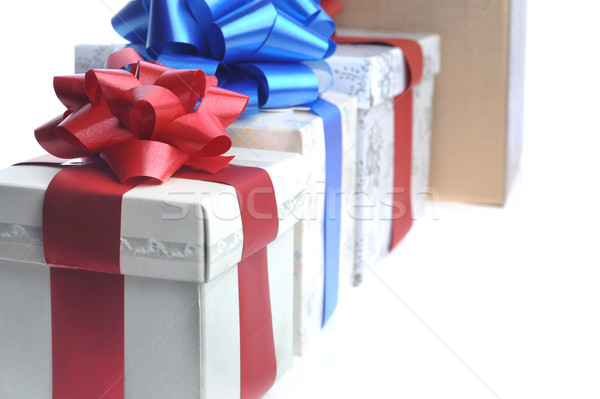 gift boxes one bigger than another Stock photo © taden