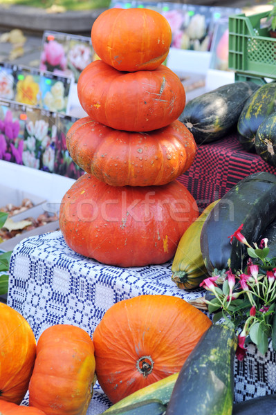 pumkins at the market Stock photo © taden