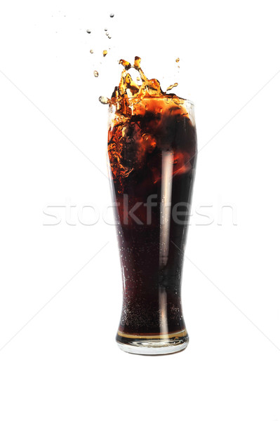 Bebida fria vidro água comida gelo restaurante Foto stock © taden