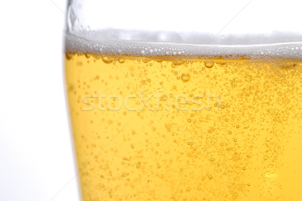 Cerveja bubbles comida gelo beber Foto stock © taden