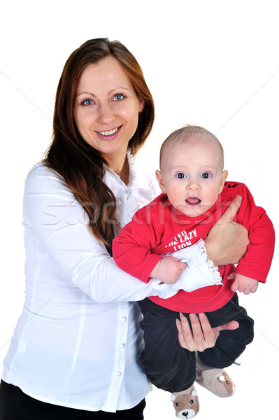 woman with  baby Stock photo © taden