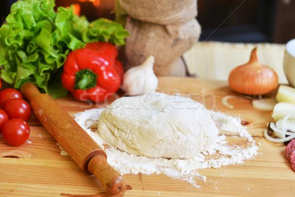 pizza dough Stock photo © taden