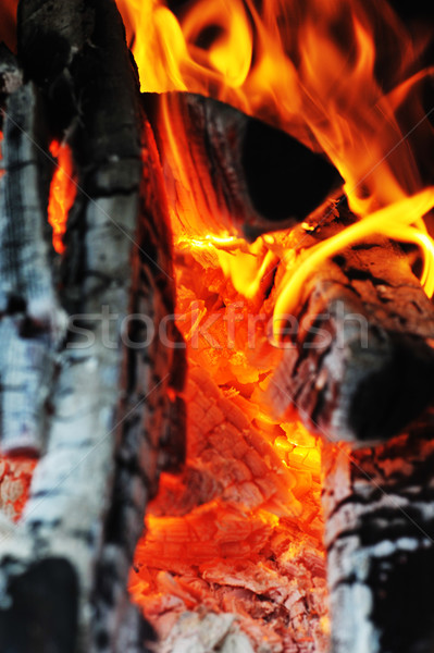 Bright flame Stock photo © taden
