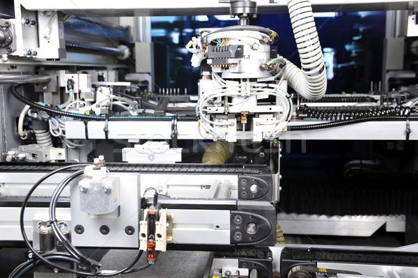 Moderno macchina modello industriali Foto d'archivio © taden