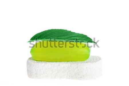 soap and sponge  Stock photo © taden