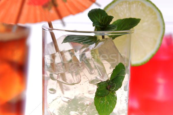 cocktail in wineglasses Stock photo © taden