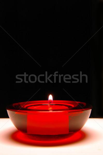 красный свечу черный Пасху рождения оранжевый Сток-фото © taden