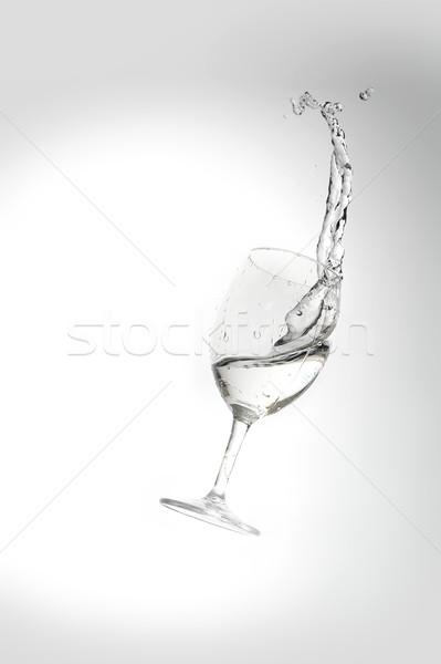 水 ガラス 波 ドリンク ストックフォト © taden
