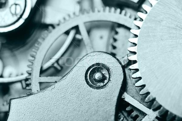 watch gears close up Stock photo © taden