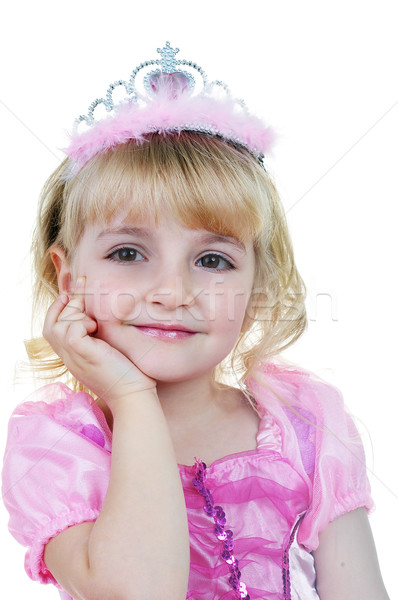 Little  princess in pink Stock photo © taden