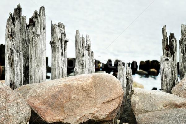 Coastal landscape Stock photo © taden