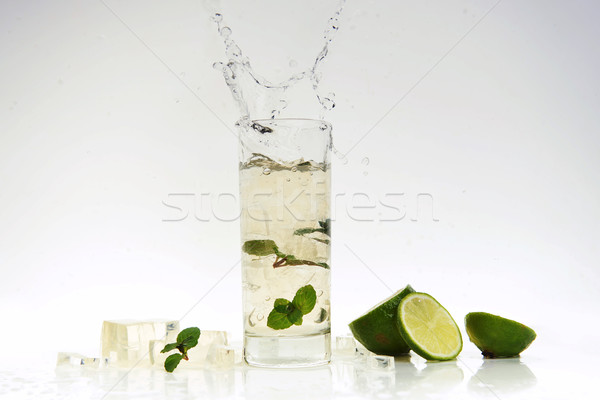 cocktail splashing Stock photo © taden