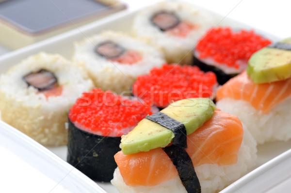 traditional Japanese sushi Stock photo © taden