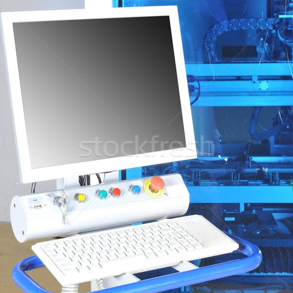 control panel  modern machine Stock photo © taden