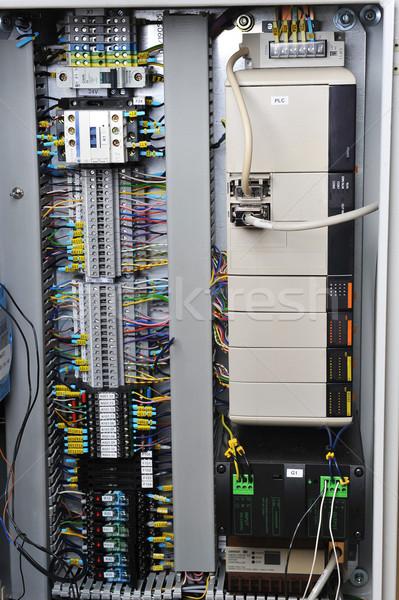 Electronics control systems Stock photo © taden