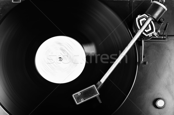 Vinilo disco registro plato diseno Foto stock © taden