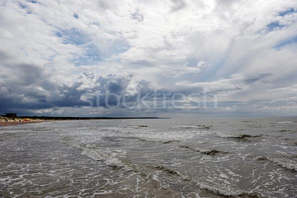 空 海 美しい 海岸 夏 日 ストックフォト © taden