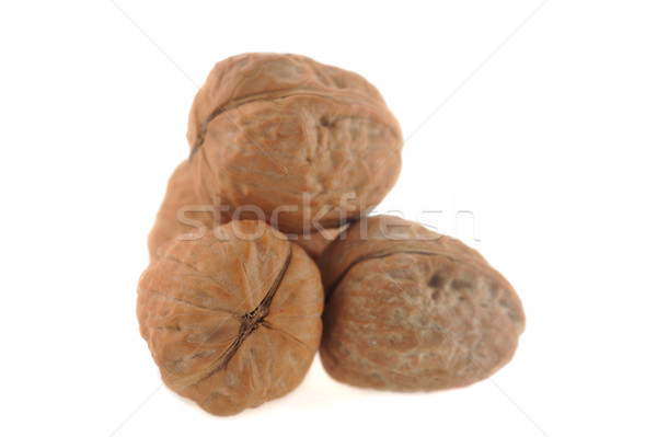 Stockfoto: Geïsoleerd · witte · natuur · groep · vruchten · eten