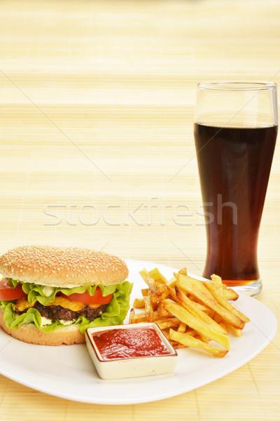 Fast food  Stock photo © taden