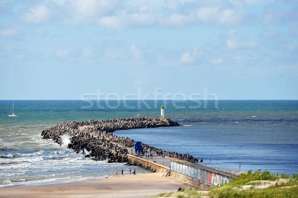 Wooden pier Stock photo © taden