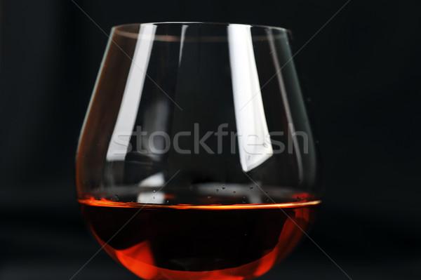 brandy in glass Stock photo © taden