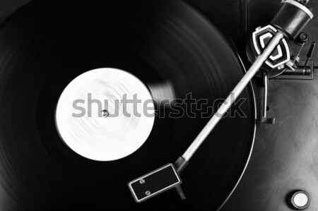 виниловых диска запись проигрыватель дизайна Сток-фото © taden