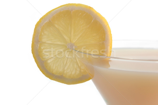 cocktail with lemon Stock photo © taden