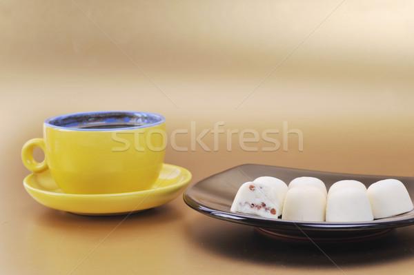 chocolate and coffee Stock photo © taden