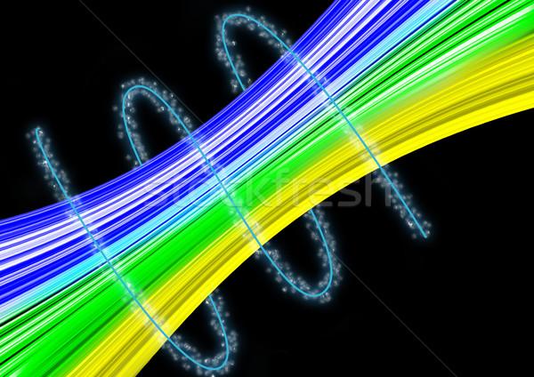 美しい 抽象的な 色 光 背景 ストックフォト © taden