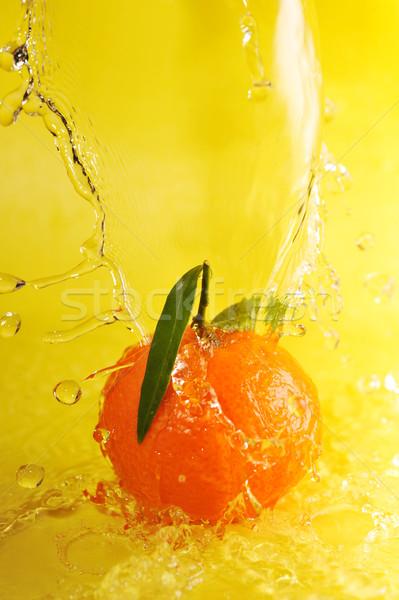 Mandarino acqua giallo verde Foto d'archivio © taden