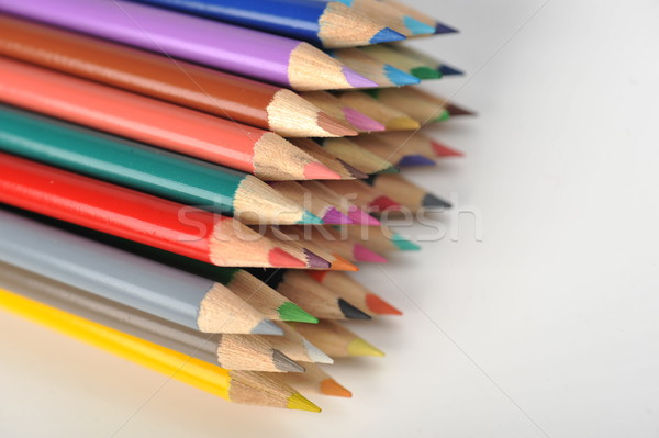 Colored pencils Stock photo © taden