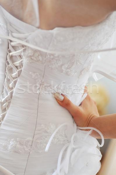 bride's back Stock photo © taden