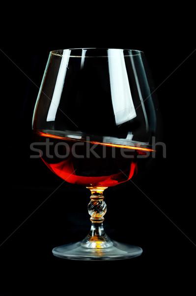 glass of cognac Stock photo © taden