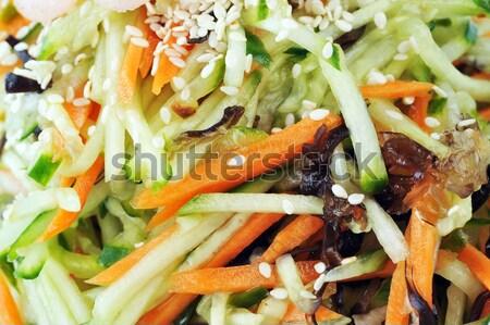 Stock fotó: Zöldség · saláta · Seattle · szezám · kínai · konyha