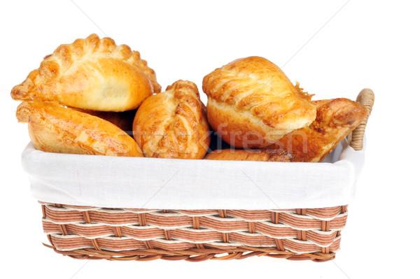pies in  basket Stock photo © taden