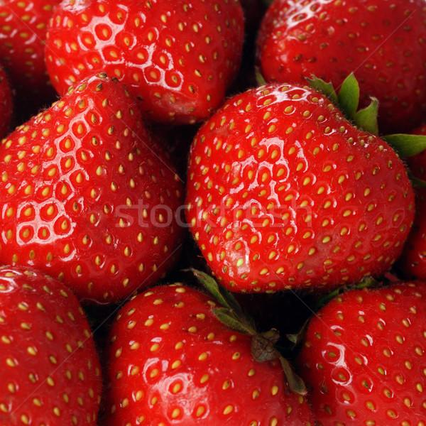красный клубника многие зрелый клубники продовольствие Сток-фото © taden