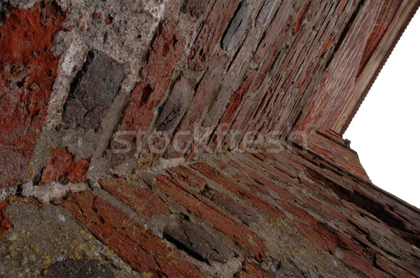 old brick wall corner Stock photo © taden