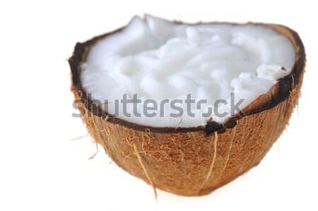 ripe coconut Stock photo © taden