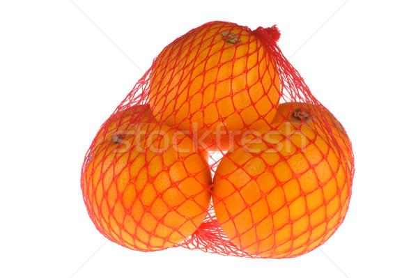 Narancs fehér közelkép természet gyümölcs szín Stock fotó © taden